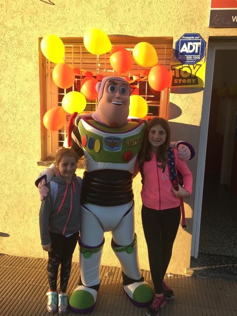 Toy Story sede Caseros 2018